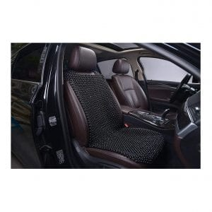 KENNISI Beaded Seat Cover Car Cooling Auto Seat Durable Large Wooden Bead