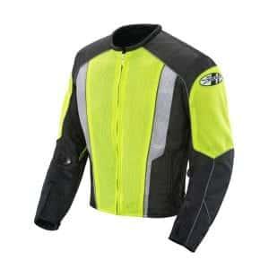 Joe Rocket 851-4603 Hi-Vis Neon Motorcycle Riding Jacket