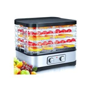 Adofi Food Dehydrator Machine 250W with 5 BPA Trays
