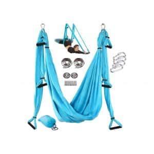 Amrta Yoga Swing with Mounting Kit Adjustable Handles Straps