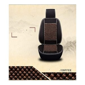 Car Lover Natural Bead Universal Car Seat Cover Massage Cool Cushion