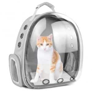 SSAWcasa Large Waterproof Cat Backpack Carrier