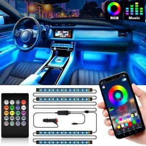 Shynerk 2-in-1 Interior Car Lights
