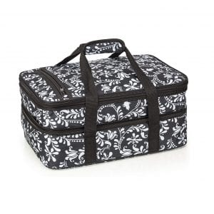 VP Home Insulated Double Casserole Travel Carry Bag