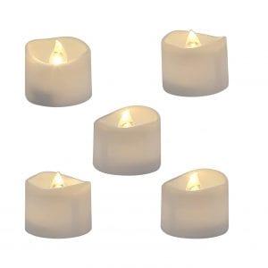 Homemory Realistic Tea Light Flameless LED Candles