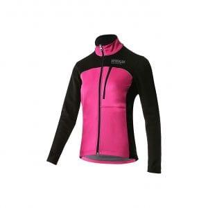 Mysenlan Women's Windproof Fleece Thermal Running Jacket