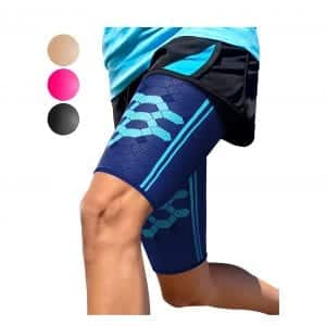 Sparthos Thigh Compression Sleeves Quad and Hamstring Support Upper Leg Sleeve