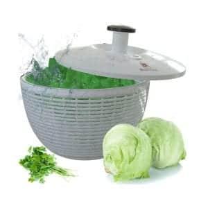Brieftons BR-SS-02 6.2 Quart Salad Spinner