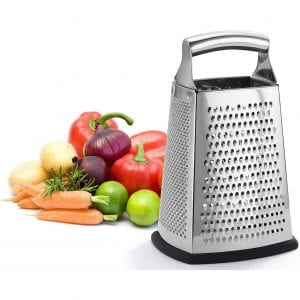 Professional 4 Sides XL Size Box Grater