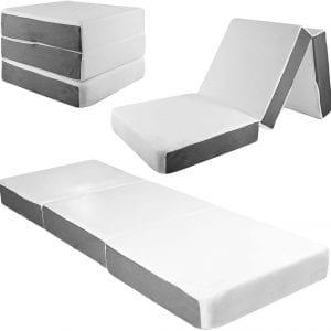 SAMAY Accessories Tri Folding Mattress