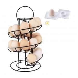 Egg Skelter Deluxe Dispenser Rack