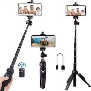 Bluehorn 40 Inch Selfie Stick Tripod