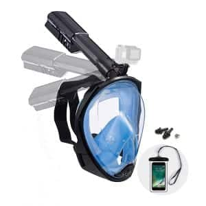 Dekugaa Snorkel Mask with a Safety Breathing System