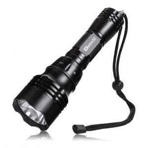 Genwiss 80M Underwater Flashlight