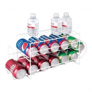 mDesign 2-Tier Can Storage Rack