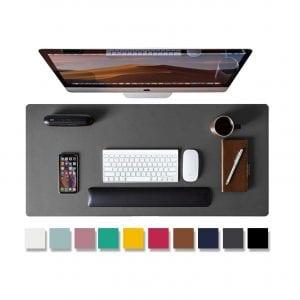 Aothia Leather Desk Pad (Gray)