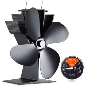 GALAFIRE 4 Blade Wood Burning Stove Fan