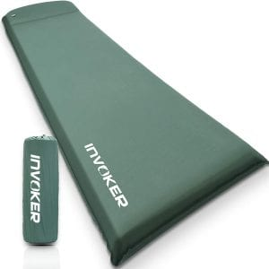INVOKER 3inch UltraThick Self Inflating Sleeping pad for Camping