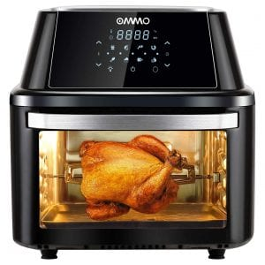 OMMO 17-Quarts Power Air Fryer Oven