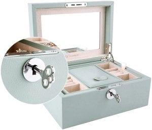Vlando Retro Wooden Jewelry Box