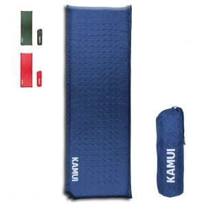 KAMUI 2'' Thick Self-Inflating Sleeping Pad for Camping