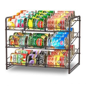 Simple Trending Can Rack Organizer