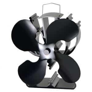 VODA 4-Blade Wood Burning Stove Fan