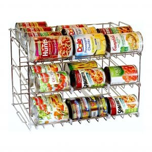 DecoBros Stackable Can Rack Organizer