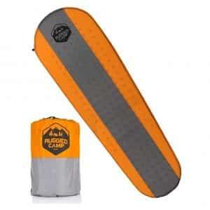 Rugged Camp Waterproof Self-Inflating Sleeping Pad
