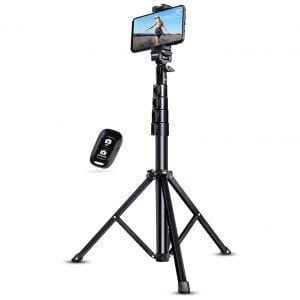 "UBeesize 51"" Extendable Selfie Stick Tripod"