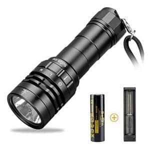 77outdoor Scuba Diving Underwater Flashlight