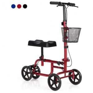 Giantex Lightweight Steerable Knee Scooter