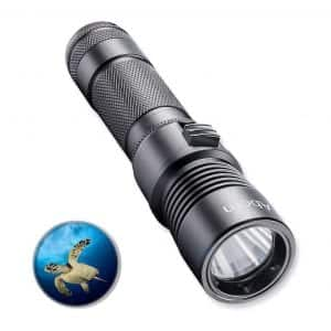 Abom Pro Diving Waterproof Underwater Flashlight