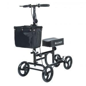ELENKER Deluxe Medical Steerable Knee Scooter