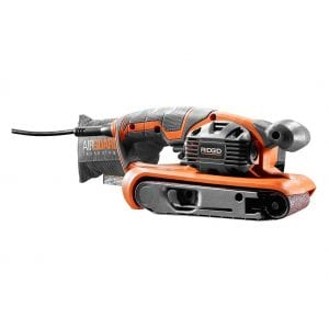 Rigid 6.5 Amp Corded 3 x 18 Inches Variable Speed Belt