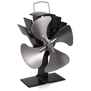 TACKLIFE FPF01A 4 Blades Wood Burning Stove Fan