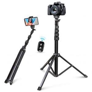 Torjim 60-inches Selfie Stick Tripod
