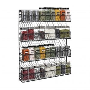 4-Tier Back Country Rustic Wire pantry