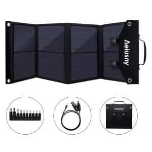Aeiusny Foldable 60W Portable Solar