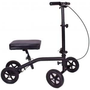 Carex Economy Rolling Steerable Knee Scooter