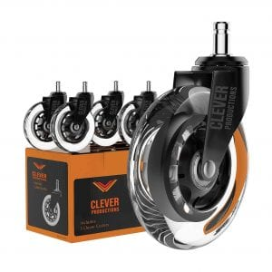 Clever Production Caster Office Chair Wheels