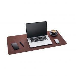 Gallaway Leather Desk Pad (Dark Brown)