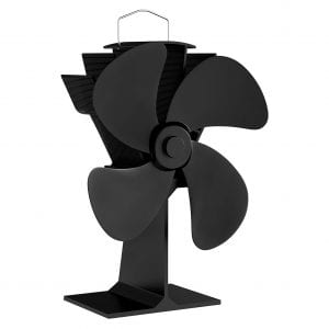 Home-Complete Wood Burning Stove Fan