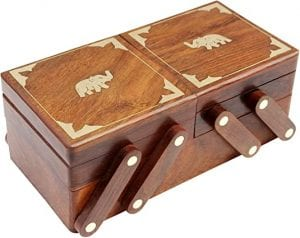 ITOS365 Wooden Jewelry Box