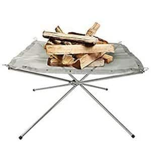 Rootless 3 Section Collapsible Portable Fire Pit
