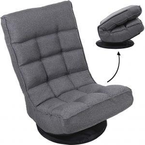 FLOGUOR 6250GR Foldable Floor Chair