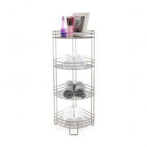 BINO 'Monaco' 4-Tier Rust-Resistant Tower Corner Spa Shelfs