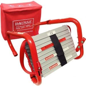 Hausse Retractable 3 Story 25 Feet Fire Escape Ladder