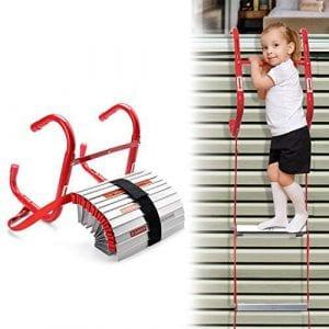 DELXO Emergency Fire Escape Ladder