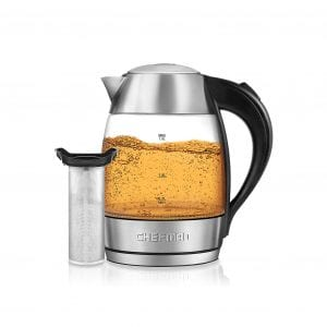 Chefman Electric Glass Kettle